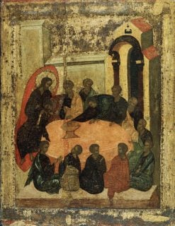 The Last Supper   Andrei Rublev   Oil Painting