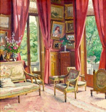 Le salon dangle | Felix Vallotton | Oil Painting