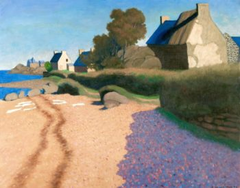 Landscape at Loguivy | Felix Vallotton | Oil Painting