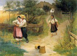 No Kidding | Nikolai Pimonenko | Oil Painting