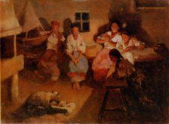 Fortune Telling | Nikolai Pimonenko | Oil Painting