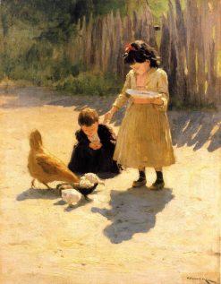 The Artists Children | Nikolai Pimonenko | Oil Painting