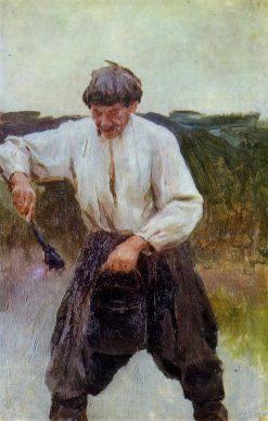A Ukrainian Peasant | Nikolai Pimonenko | Oil Painting
