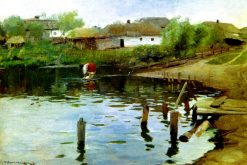 The Pond | Nikolai Pimonenko | Oil Painting