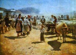 The Fair | Nikolai Pimonenko | Oil Painting