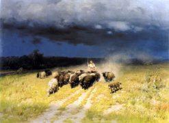 Before the Storm | Nikolai Pimonenko | Oil Painting