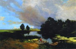 Before the Rain | Nikolai Pimonenko | Oil Painting