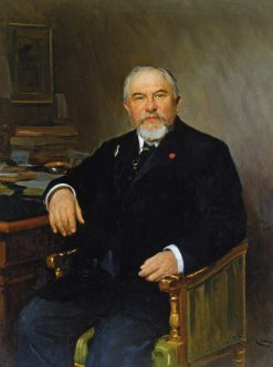 Portrait of A.N. Tereshchenko | Nikolai Pimonenko | Oil Painting