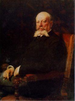Portrait of Ippolit Matsnev | Nikolai Pimonenko | Oil Painting