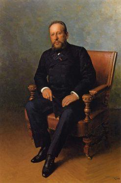 Portrait of L.I. Brodsky | Nikolai Pimonenko | Oil Painting
