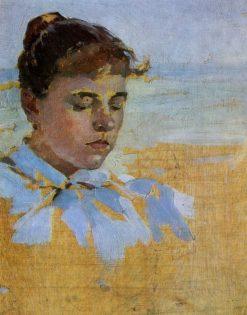 The Artists Wife | Nikolai Pimonenko | Oil Painting