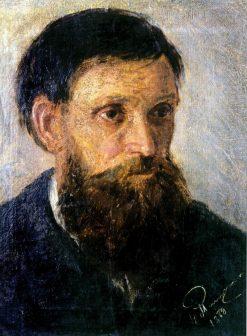 Portrait of the Artists Father Kornil Pimonenko | Nikolai Pimonenko | Oil Painting
