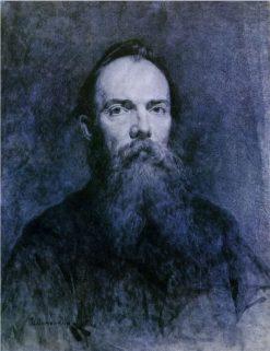 Portrait of Painter Nikolai Murashko | Nikolai Pimonenko | Oil Painting