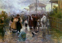 The Farewell | Nikolai Pimonenko | Oil Painting
