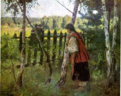 Jealousy | Nikolai Pimonenko | Oil Painting
