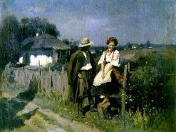 The Tryst | Nikolai Pimonenko | Oil Painting