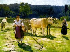 Haymaking | Nikolai Pimonenko | Oil Painting