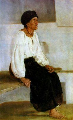 A Blind Woman | Nikolai Pimonenko | Oil Painting