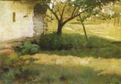 An Old Apple Tree | Nikolai Pimonenko | Oil Painting