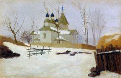 A Church | Nikolai Pimonenko | Oil Painting