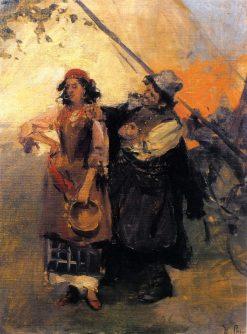 Gypsies | Nikolai Pimonenko | Oil Painting