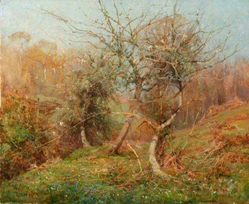 Breath of Spring | Benjamin Haughton | Oil Painting