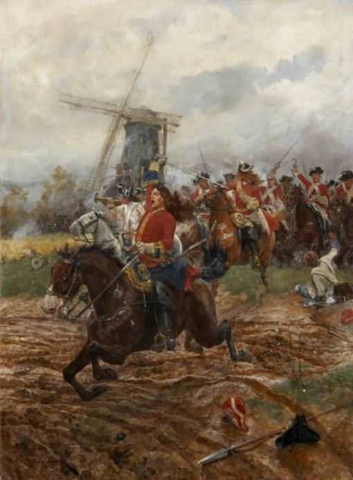 A Cavalry Charge | Richard Caton Woodville the Younger | Oil Painting