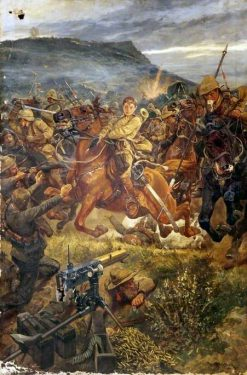 Charge during the Boer War | Richard Caton Woodville the Younger | Oil Painting