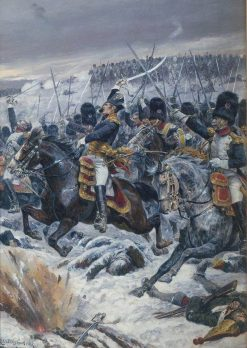 Marshal Ney at Eylau | Richard Caton Woodville the Younger | Oil Painting