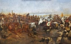 The Charge of the 21st Lancers at the Battle of Omdurman