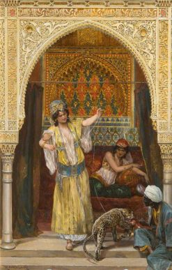 The Pet of the Harem | Richard Caton Woodville the Younger | Oil Painting
