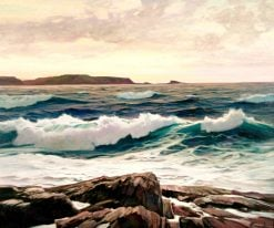 Seascape | Frederick Judd Waugh | Oil Painting