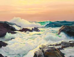Bright foam | Frederick Judd Waugh | Oil Painting