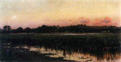 Sunset | Vladimir Orlovsky | Oil Painting