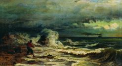 Surf | Vladimir Orlovsky | Oil Painting