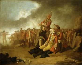 The Death of General Wolfe | Edward Penny | Oil Painting