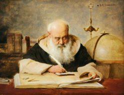 The Scientist   Richard Linderum   Oil Painting