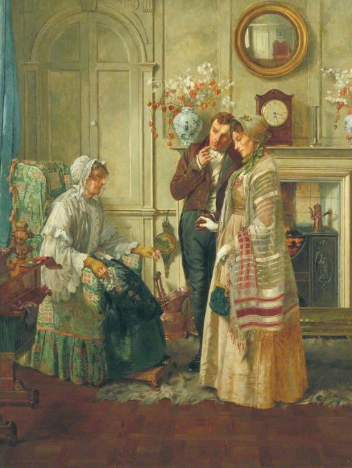 Sweethearts | Walter Dendy Sadler | Oil Painting