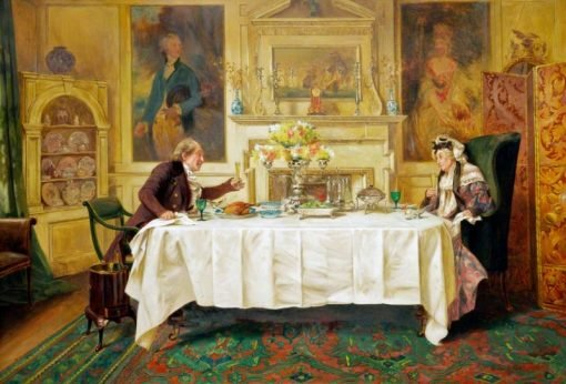 Darby and Joan | Walter Dendy Sadler | Oil Painting