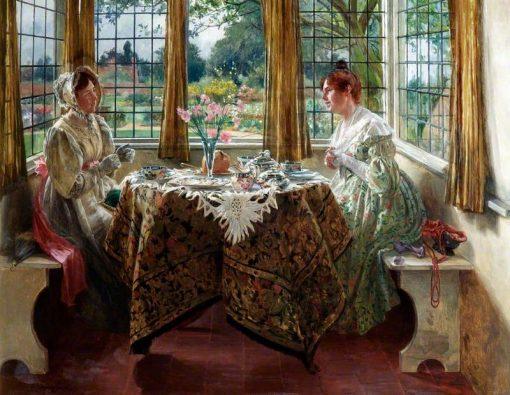 Afternoon Tea | Walter Dendy Sadler | Oil Painting