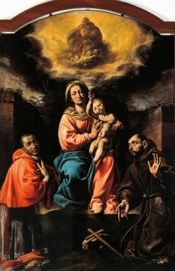 The Virgin and Child with Saints | Tanzio da Varallo | Oil Painting