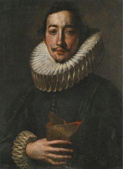 Portrait of a Gentleman   Tanzio da Varallo   Oil Painting