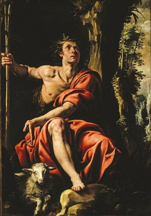 St. John the Baptist in the Desert   Tanzio da Varallo   Oil Painting