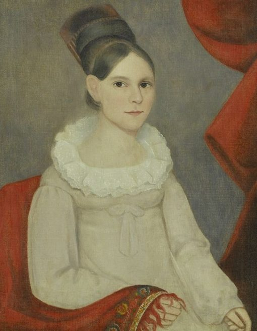 Portrait of a Young Girl | Ammi Phillips | Oil Painting