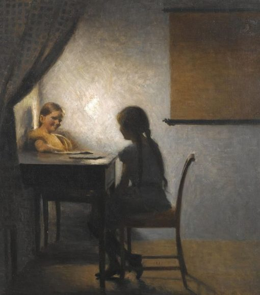 After School   Peter Ilsted   Oil Painting