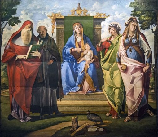 Madonna and Child with Saints Jerome