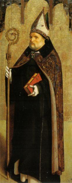 St. Benedict of Nursia | Antonello da Messina | Oil Painting
