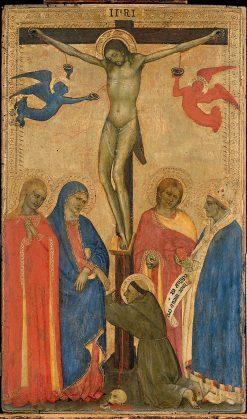 Crucifixion | Giovanni da Milano | Oil Painting