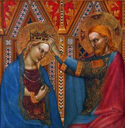 Coronation of the Virgin | Giovanni da Milano | Oil Painting