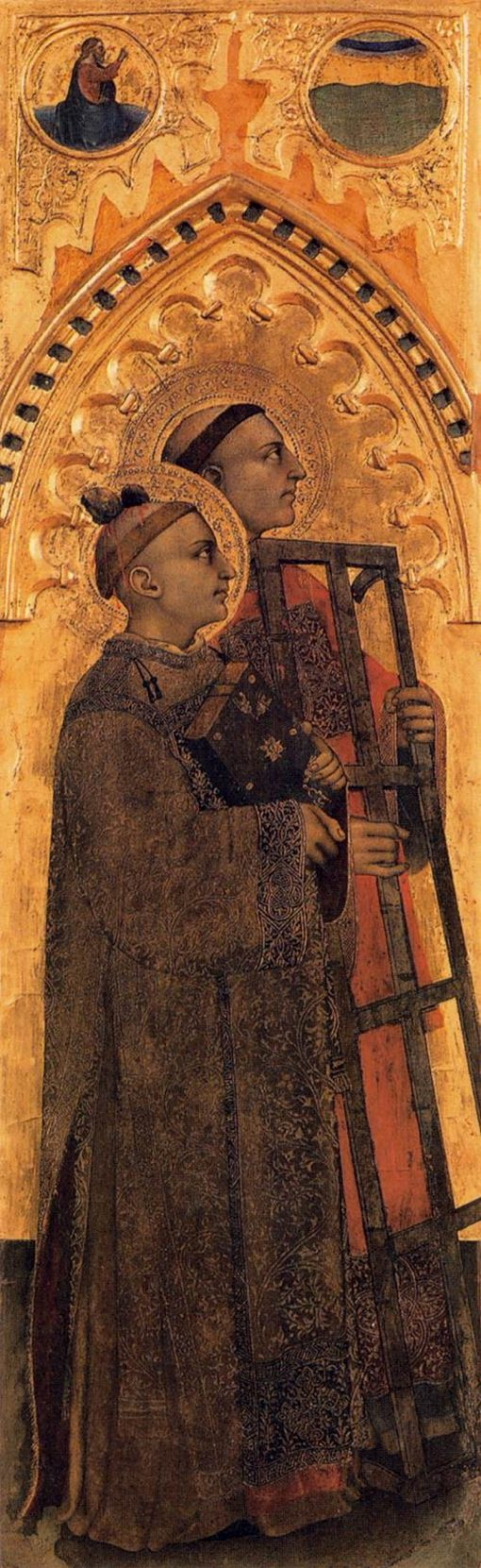 Saints Stephen and Lawrence | Giovanni da Milano | Oil Painting